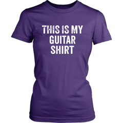 This Is My Guitar Shirt