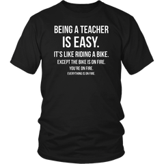 Being A Teacher Is Easy - It's Like...