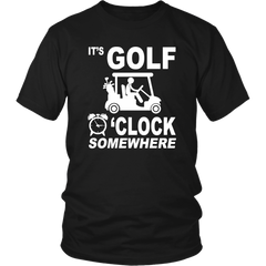 It's Golf O'clock Somewhere