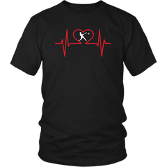 Baseball Addict Heartbeat