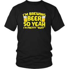 I'm Brewing Beer. So Yeah, I'm Pretty Bussy