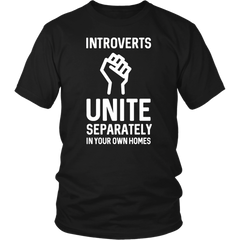 Introverts Unite Separately In You Own Homes