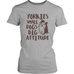 Yorkies. Small Dogs Big Attitude