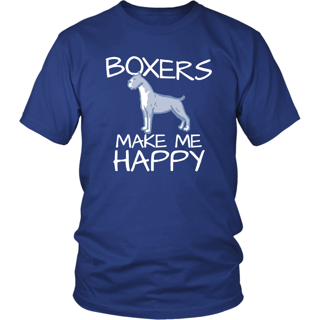 Boxers Make Me Happy