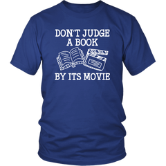 Don't Judge A Book By It's Movie