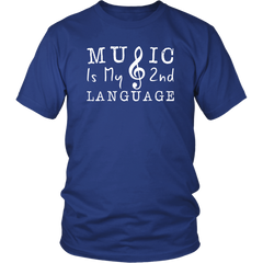 Music Is My 2nd Language