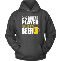 Guitar Player Fueled By Beer‬‏