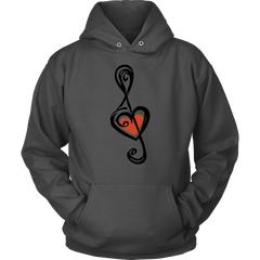 Heart Shaped Treble Clef