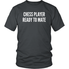 Chess Player Ready To Mate