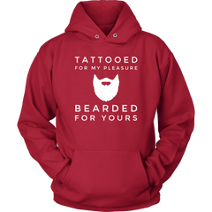 Tattooed For My Pleasure. Bearded For yours