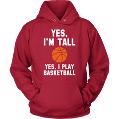 Yes, I'm Tall. Yes, I Play Basketball