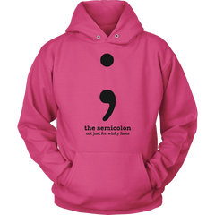 The Semicolon. Not Just For Winky Faces