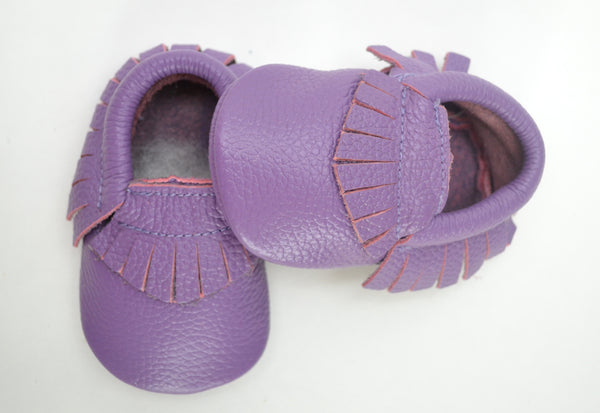 Purple Moccasins