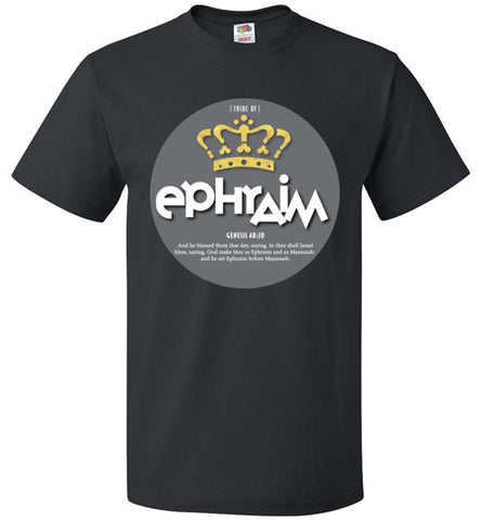 Ephraim Short Sleeve (Unisex and Youth) Grey Dot