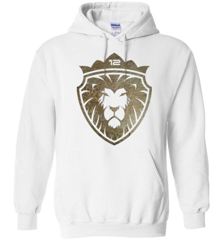 12 Lion of Gold (Unisex and Youth) Pull-Over Hoodie