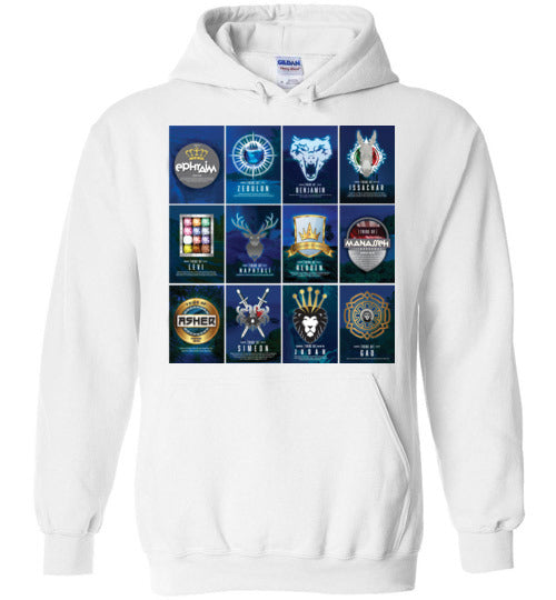 All 12 Tribes Hoodie