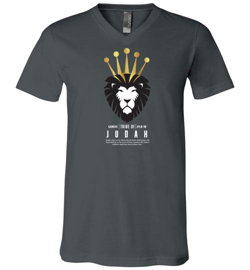 Judah Black V-Neck (Unisex)