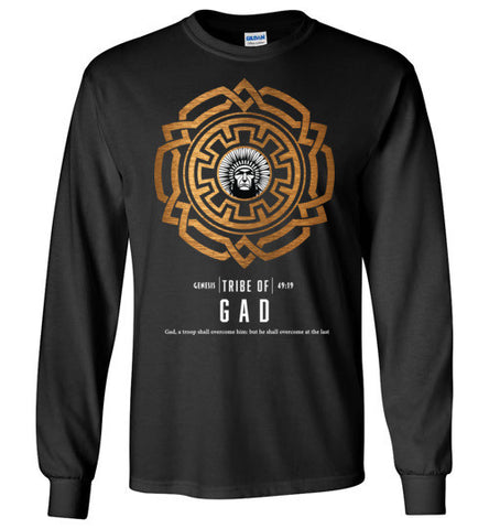 Gad Long Sleeve (Unisex and Youth) White Letter