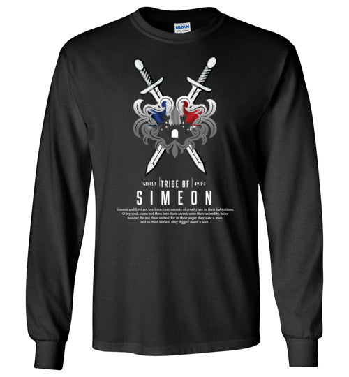 Simeon Long Sleeve (Unisex and Youth) White Letter