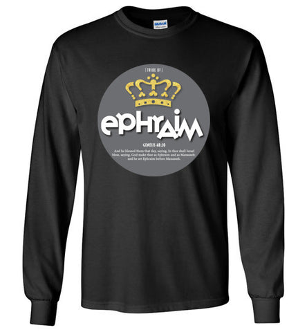 Ephraim Long Sleeve (Unisex and Youth) Grey Dot