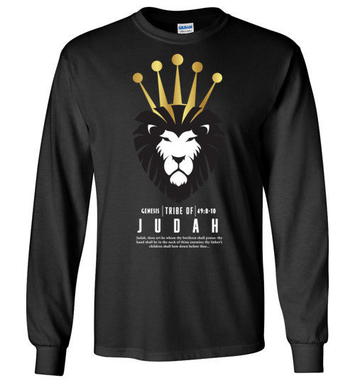 Judah Long Sleeve (Unisex and Youth) White Letter