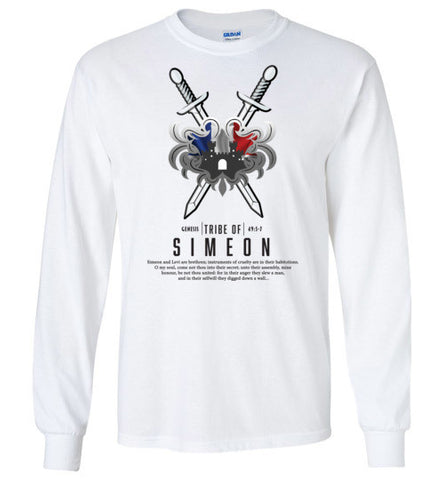 Simeon Long Sleeve (Unisex and Youth) Black Letter