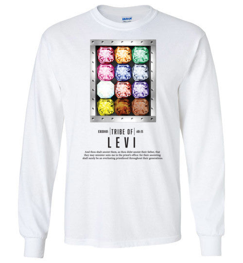 Levi Long Sleeve (Unisex and Youth) Black Letter