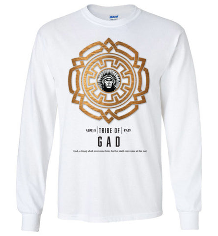 Gad Long Sleeve (Unisex and Youth) Black Letter