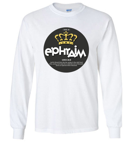 Ephraim Long Sleeve (Unisex and Youth) Black Dot