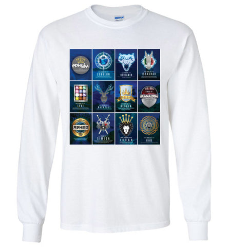 All 12 Tribes Logo Long Sleeve