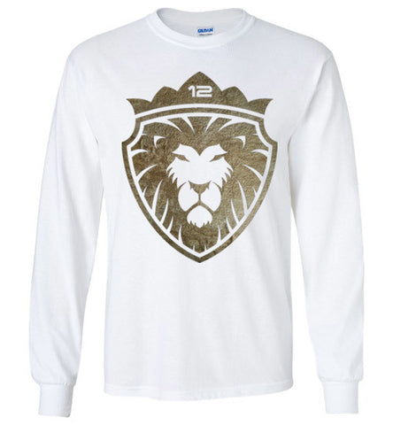 12 Lion of Gold Long Sleeve (Unisex and Youth)