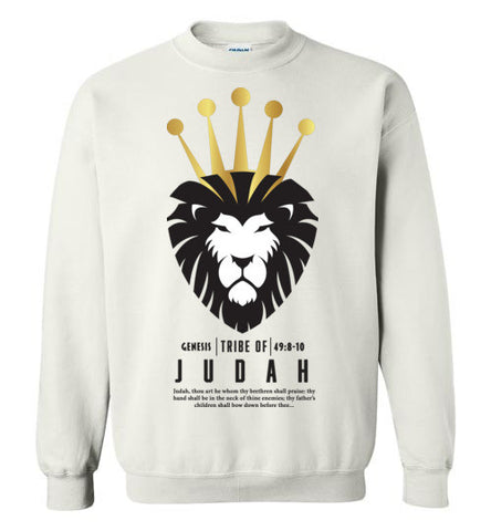 Judah Crewneck Sweatshirt (Unisex and Youth) Black Letter