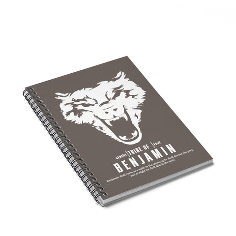 Benjamin Spiral Notebook - Ruled Line