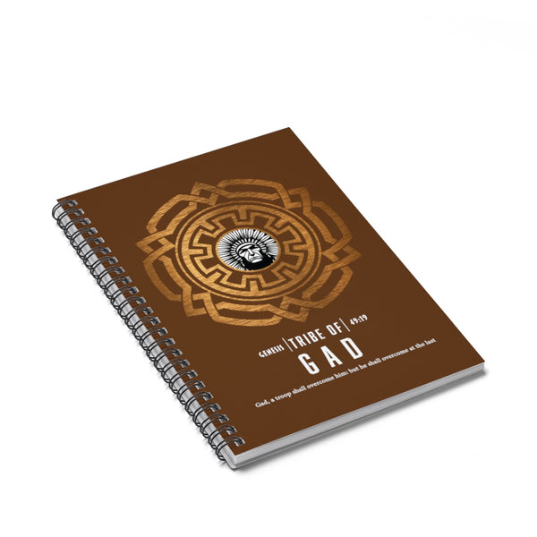 Gad Spiral Notebook - Ruled Line