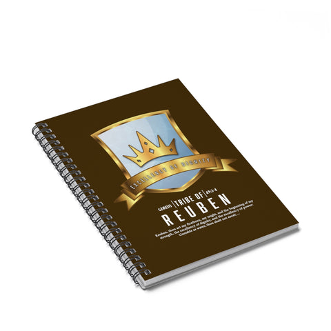 Reuben Spiral Notebook - Ruled Line