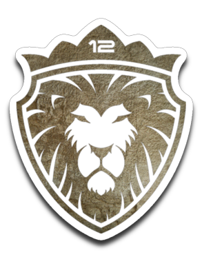 12 Lion of Gold Decal
