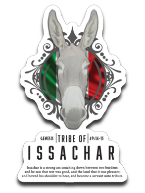 ISSACHAR2  Decal