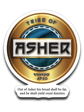 Asher Decal Black Letter