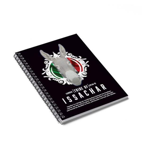 Issachar 2 Spiral Notebook - Ruled Line