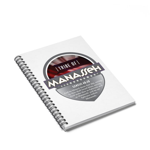 Manasseh Spiral Notebook - Ruled Line