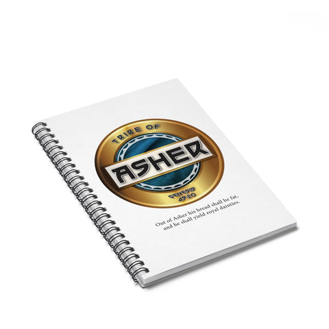 Asher Spiral Notebook - Ruled Line