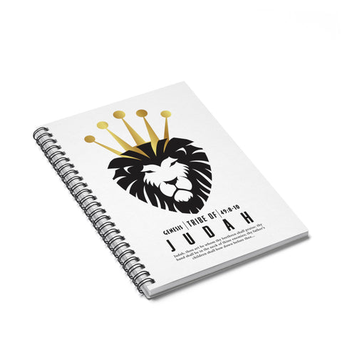 Judah Spiral Notebook - Ruled Line