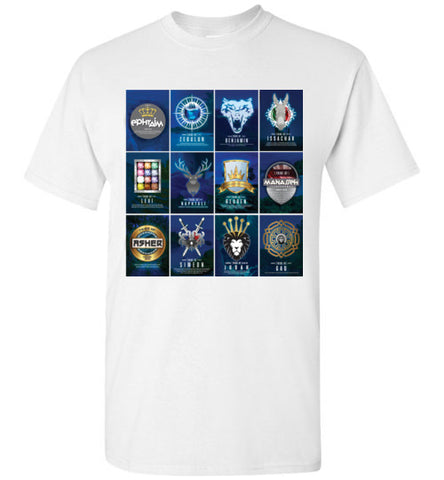 All 12 Tribes Logo Short Sleeve