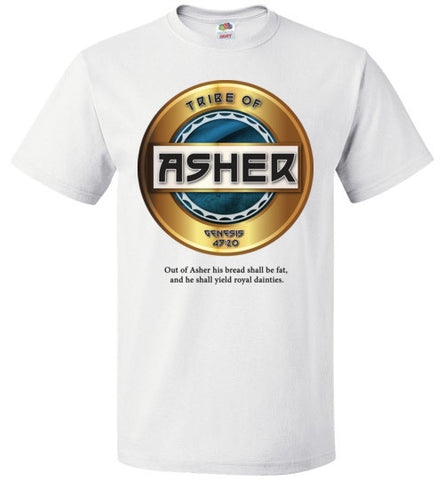 Asher Short Sleeve (Unisex and Youth) Black Letter
