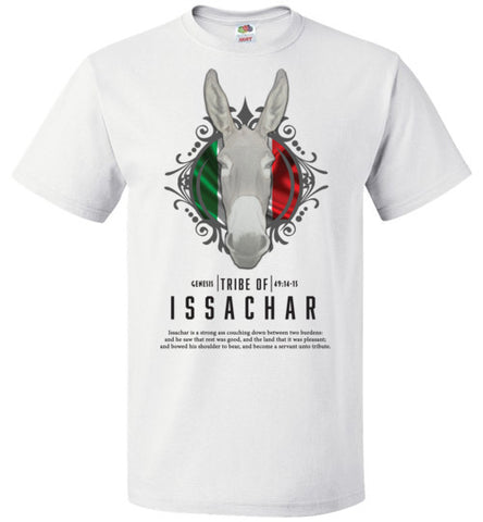 ISSACHAR 2 SHORT SLEEVE (UNISEX AND YOUTH) BLACK LETTER