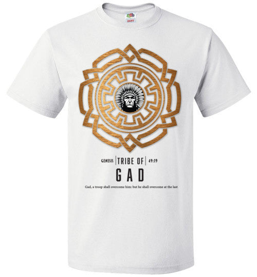 Gad Short Sleeve (Unisex and Youth) Black Letter