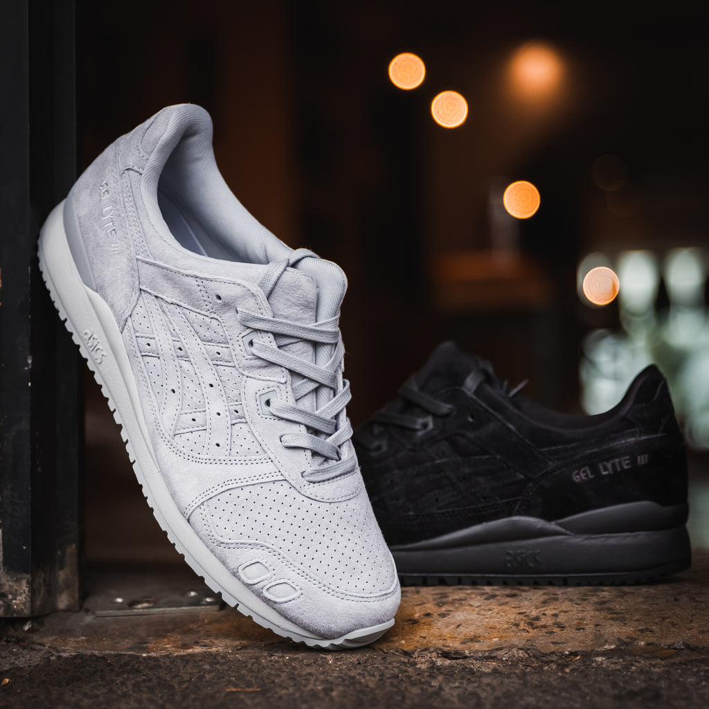 Asics Gel-lyte 3 celebrates its 30th anniversary in Black and Grey
