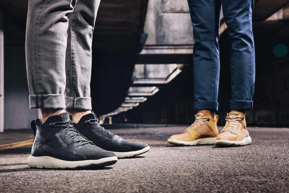 TIMBERLAND INTRODUCE THE FLYROAM SNEAKERBOOTS BE LIGHT, BE