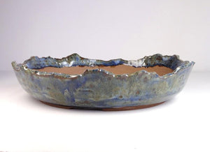 White Horse Pottery Blue Mountain Valley Bonsai Pot