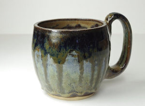 Coffee Tea Mug handthrown by White Horse Pottery